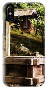 Japanese Tea Garden Well IPhone Case