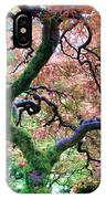 Japanese Tree In Garden IPhone Case