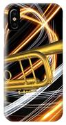 Jazz Art Trumpet IPhone Case