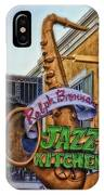 Jazz Kitchen Signage Downtown Disneyland IPhone Case