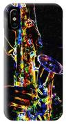 Jazz Lights IPhone Case