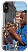 Jazz Man IPhone Case