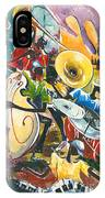 Jazz No. 4 IPhone Case