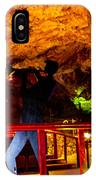 Jazz On The Caverns IPhone Case