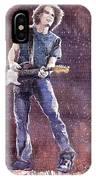 Jazz Rock John Mayer 01 IPhone Case