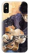 Jazz Rock John Mayer 02 IPhone Case