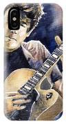Jazz Rock John Mayer 06 IPhone Case