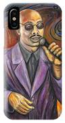 Jazz Singer IPhone Case