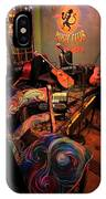 Jazza Matazz IPhone Case