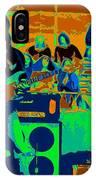 Jb #33 Enhanced In Cosmicolors IPhone Case