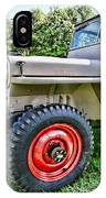 Jeep Willys Ww2 IPhone Case