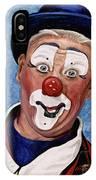 Watercolor Clown #11 Jeffrey Potts  IPhone Case