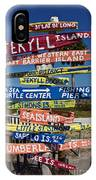 Jekyll Island Sign IPhone Case