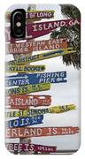 Jekyll Island Where To Go IPhone Case