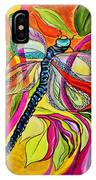 Jenny's Dragonfly In Acrylic IPhone Case