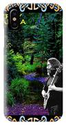Jerry At Psychedelic Creek IPhone Case