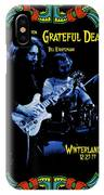 J G And B K At Winterland In 1977 IPhone Case