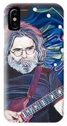 Jerry Garcia And Lights IPhone Case