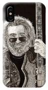 Jerry Garcia String Beard Guitar IPhone Case