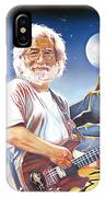 Jerry Garcia Live At The Mars Hotel IPhone Case