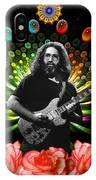 Jerry Spacepods Triple Jerry Ufo Roses Under Cosmic Sun IPhone Case
