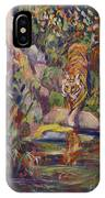 Jerrys Tiger IPhone Case