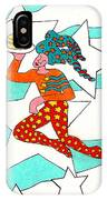 Jester With Cake IPhone Case