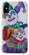 Jesters On Bourbon Street  IPhone Case