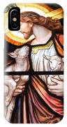 Jesus And Lambs IPhone Case