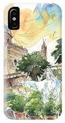 Jesus By Palermo Cathedral IPhone Case