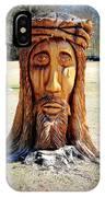 Jesus Carving IPhone Case