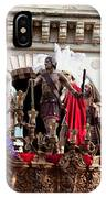 Jesus Christ And Roman Soldiers On Procession IPhone Case
