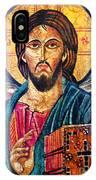 Jesus Christ The Pantocrator I IPhone Case