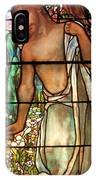 Jesus Stained Art - St Paul's Episcopal Church Selma Alabama IPhone Case