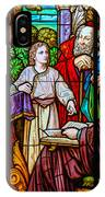 Jesus Teaches In The Temple IPhone Case