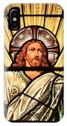 Jesus - The Light Of The Wold IPhone Case