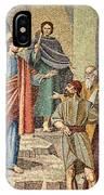 Jesus Visit IPhone Case