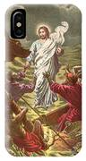 Jesus Walking On The Water IPhone Case