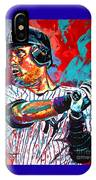 Jeter At Bat IPhone Case