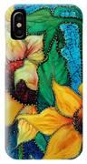 Jeweled Sassy Sunflowers IPhone Case