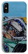 Jim Clark Indy 500 IPhone Case