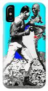 Jim Jeffries Jack Johnson Reno Nevada July 4th 1910-2010  IPhone Case