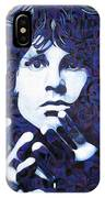 Jim Morrison Chuck Close Style IPhone Case