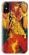 Jimi Hendrix Fire IPhone Case