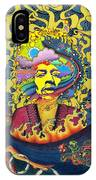 Jimi Hendrix Rainbow Bridge IPhone Case