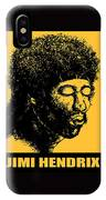 Jimi Hendrix Rock Music Poster IPhone Case
