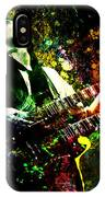 Jimmy Page - Led Zeppelin - Original Painting Print IPhone Case