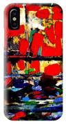 Joan Miro Quote   I Try To Apply Colors Like Words That Shape Poems Like Notes That Shape Music IPhone Case