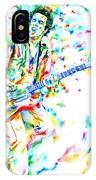 Joe Strummer Playing Live IPhone Case