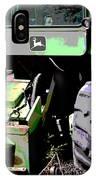 John Deere Green IPhone Case